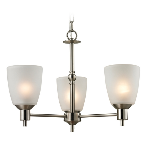 Cornerstone Lighting Cornerstone Lighting Jackson Brushed Nickel Chandelier 1303CH/20