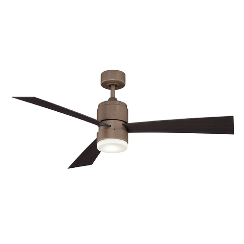 Fanimation Fans Fanimation Fans Zonix Dark Copper Penny LED Ceiling Fan with Light FP4650DCP
