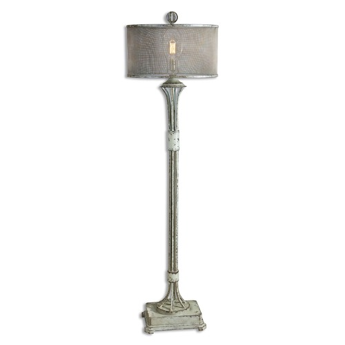 Uttermost Lighting Uttermost Pontoise Aged Ivory Floor Lamp 28464-1