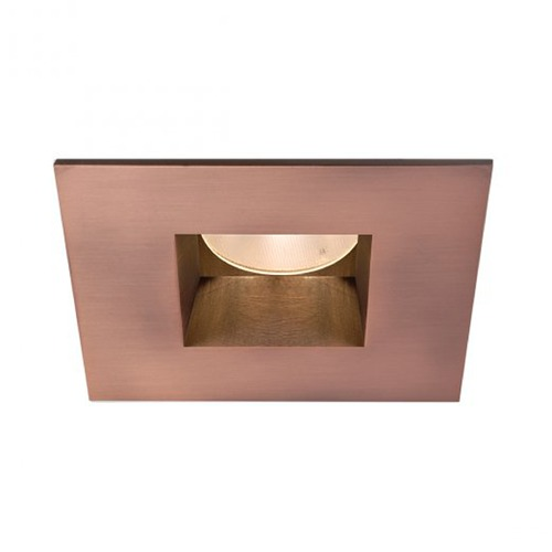 WAC Lighting WAC Lighting Square Copper Bronze 2-Inch LED Recessed Trim 3000K 825LM 45 Degree HR2LEDT709PF830CB