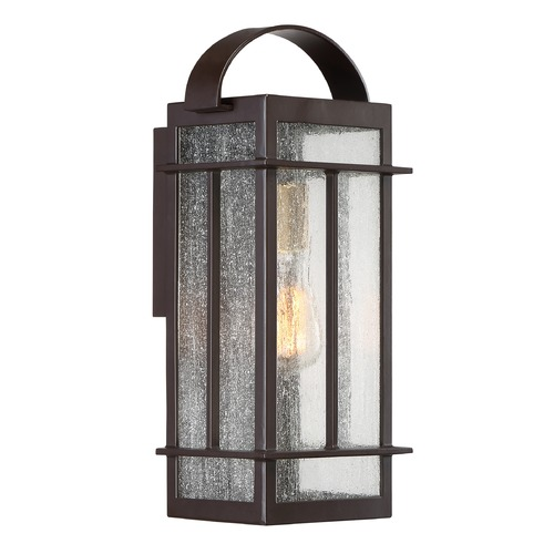 Quoizel Lighting Quoizel Lighting Crestview Western Bronze Outdoor Wall Light CVW8407WTFL