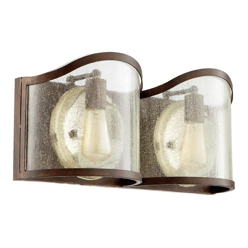 Quorum Lighting Quorum Lighting Salento Vintage Copper Bathroom Light 5106-2-39