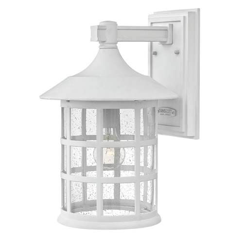 Hinkley Lighting Hinkley Lighting Freeport Classic White Outdoor Wall Light 1805CW-GU24