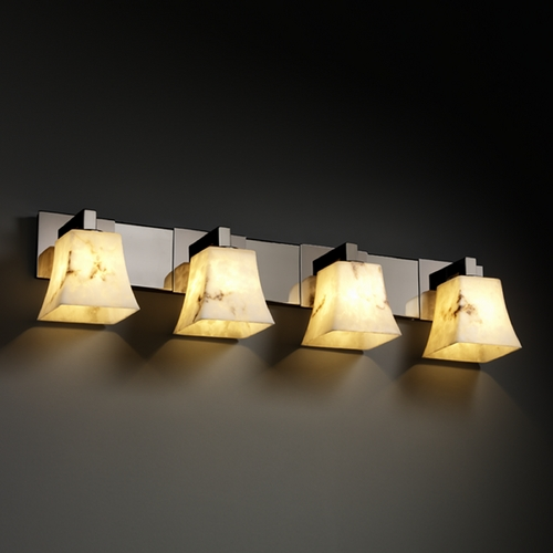 Justice Design Group Justice Design Group Lumenaria Collection Bathroom Light FAL-8924-40-BLKN