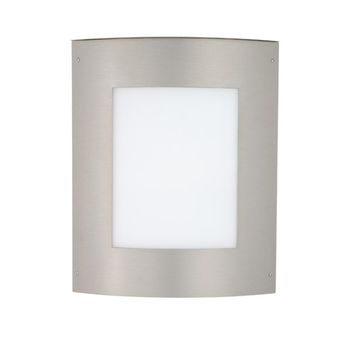 Besa Lighting Besa Lighting Moto Brushed Aluminum Outdoor Wall Light 109-842207-BA