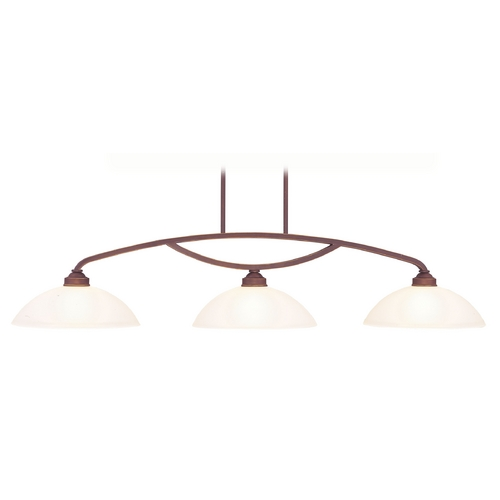 Livex Lighting Livex Lighting Somerset Vintage Bronze Billiard Light with Bowl / Dome Shade 4224-70