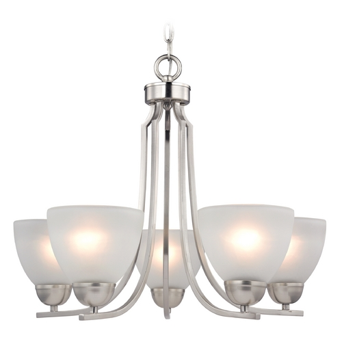 Cornerstone Lighting Cornerstone Lighting Kingston Brushed Nickel Chandelier 1405CH/20
