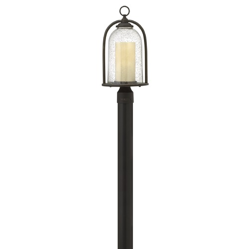Hinkley Lighting Hinkley Lighting Quincy Oil Rubbed Bronze LED Post Light 2611OZ-LED
