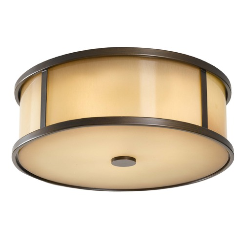 Feiss Lighting Feiss Lighting Dakota Heritage Bronze LED Close To Ceiling Light OL7613HTBZ-LED