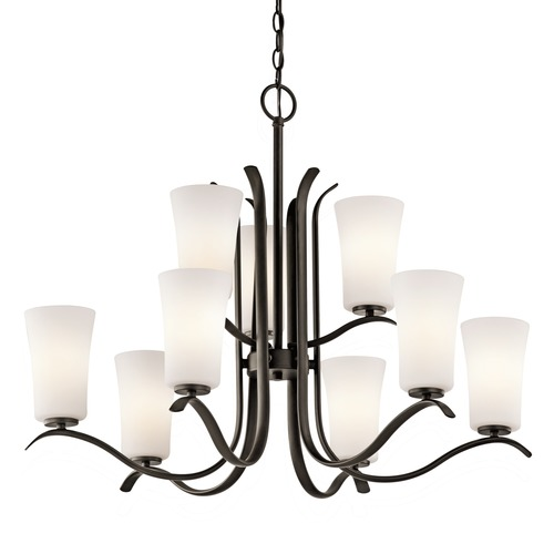 Kichler Lighting Kichler Lighting Armida Olde Bronze LED Chandelier 43075OZL16