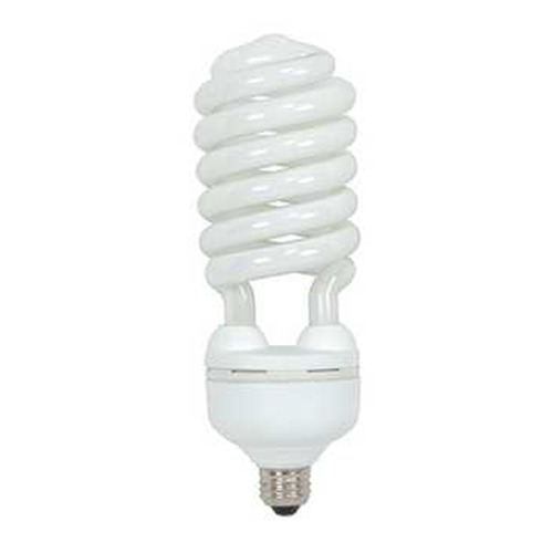 Satco Lighting 55-Watt Cool White Compact Fluorescent Light Bulb S7338