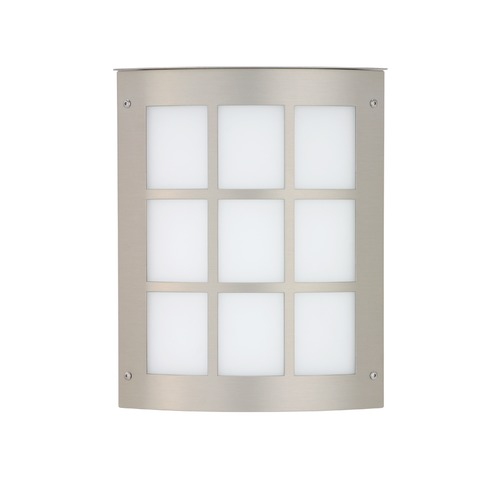 Besa Lighting Besa Lighting Moto Brushed Aluminum Outdoor Wall Light 104-WA-BA