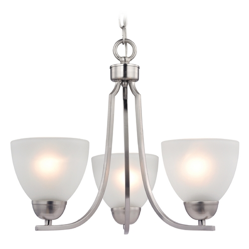 Cornerstone Lighting Cornerstone Lighting Kingston Brushed Nickel Chandelier 1403CH/20