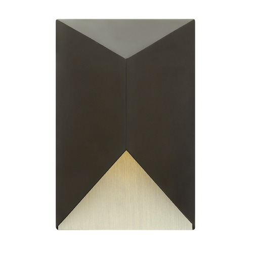 Hinkley Lighting Hinkley Lighting Vento Satin Black Outdoor Wall Light 2184SK