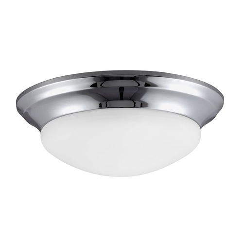 Sea Gull Lighting Sea Gull Lighting Nash Chrome LED Flushmount Light 7543691S-05