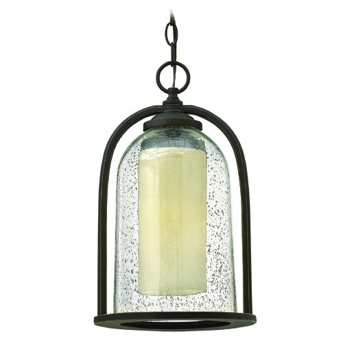 Hinkley Lighting Hinkley Lighting Quincy Oil Rubbed Bronze LED Outdoor Hanging Light 2612OZ-LED
