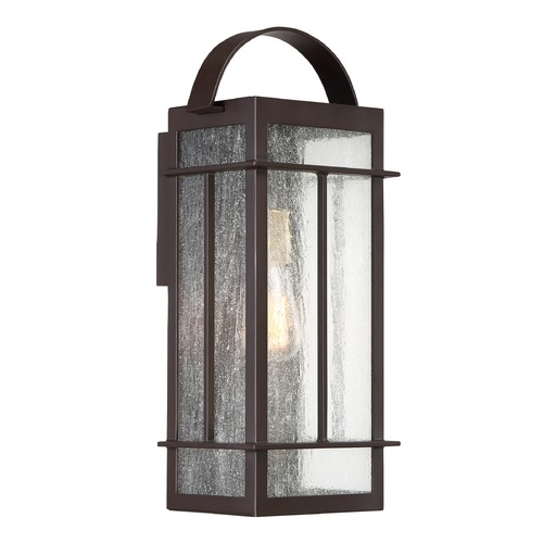 Quoizel Lighting Quoizel Lighting Crestview Western Bronze Outdoor Wall Light CVW8408WTFL