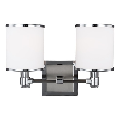 Feiss Lighting Feiss Lighting Prospect Park Satin Nickel / Chrome Bathroom Light VS23302SN/CH
