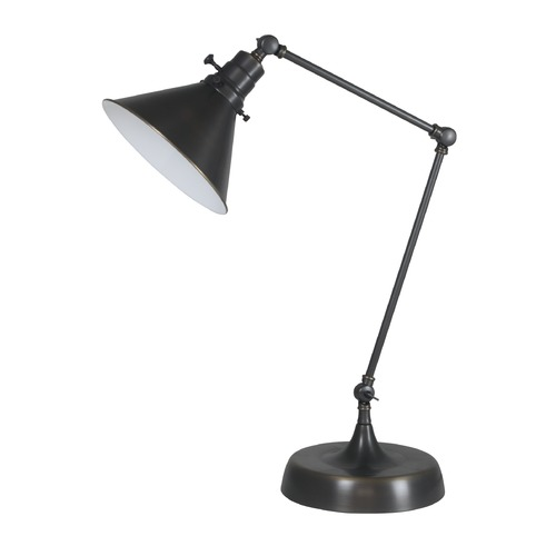 House of Troy Lighting House Of Troy Otis Oil Rubbed Bronze Table Lamp with Conical Shade OT650-OB-MS