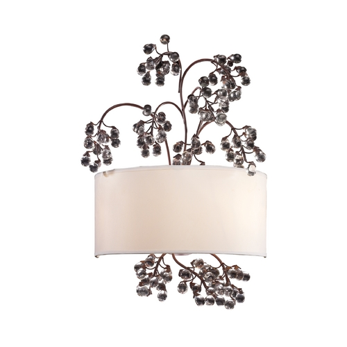 Elk Lighting Modern Sconce Wall Lights in Antique Darkwood Finish 20058/2