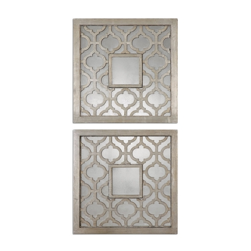 Uttermost Lighting Square 20-Inch Mirror 13808
