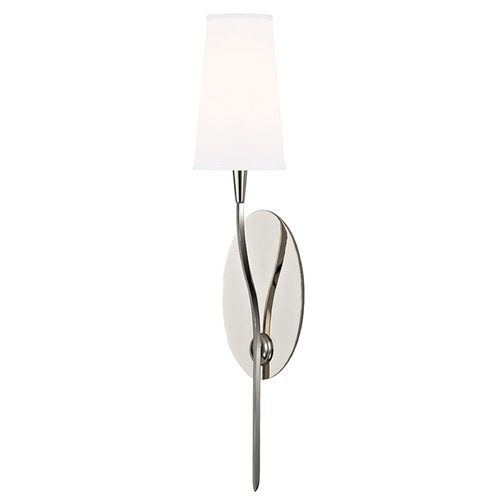 Hudson Valley Lighting Rutland 1 Light Sconce - Polished Nickel 3711-PN-WS