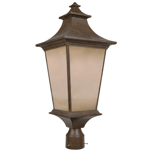 Craftmade Lighting Craftmade Lighting Argent Aged Bronze Textured Post Light Z1325-AG