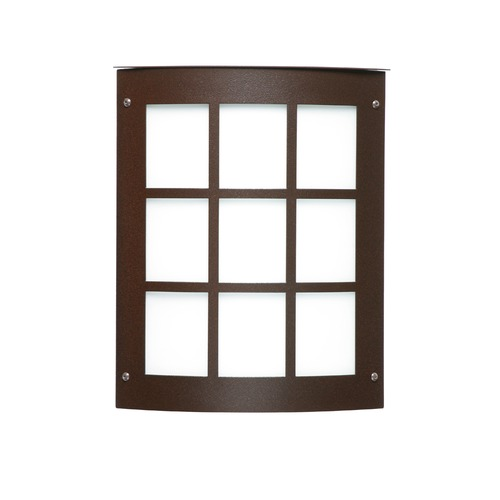 Besa Lighting Besa Lighting Moto Bronze Outdoor Wall Light 104-WA-BR