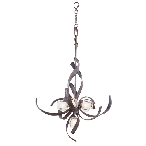 Kalco Lighting Kalco Lighting Solana Oxidized Copper Chandelier 7540OC