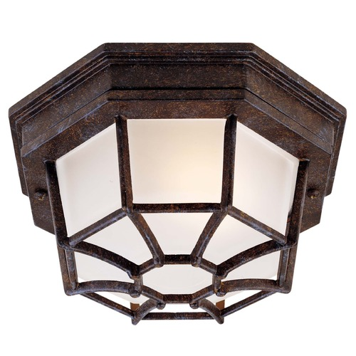 Savoy House Savoy House Rustic Bronze Close To Ceiling Light 5-2066-72