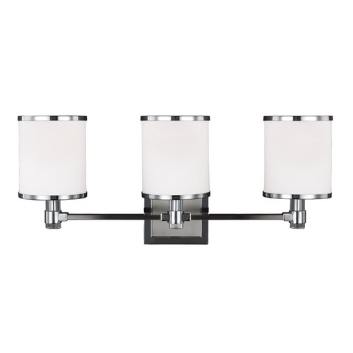 Feiss Lighting Feiss Lighting Prospect Park Satin Nickel / Chrome Bathroom Light VS23303SN/CH