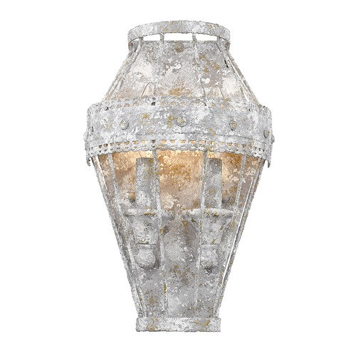 Golden Lighting Golden Lighting Ferris Oyster Sconce 7856-WSCOY