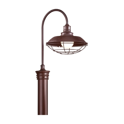 Troy Lighting Post Light in Old Rust Finish P9272OR