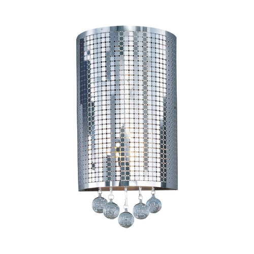 ET2 Lighting Modern Sconce Wall Light in Polished Chrome Finish E24383-91PC