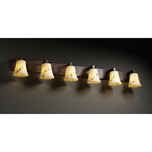 Justice Design Group Justice Design Group Lumenaria Collection Bathroom Light FAL-8926-20-DBRZ
