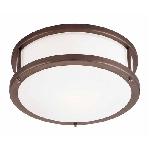 Access Lighting Access Lighting Conga Bronze Flushmount Light C50079BRZOPLEN1213BS