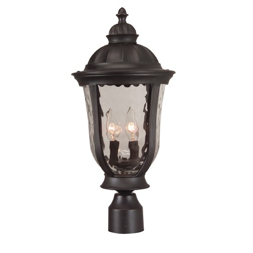 Craftmade Lighting Craftmade Lighting Frances Oiled Bronze Post Light Z6025-92
