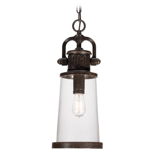 Quoizel Lighting Quoizel Steadman Imperial Bronze Outdoor Hanging Light SDN1908IBFL