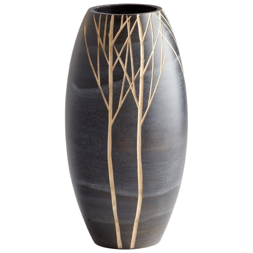 Cyan Design Cyan Design Onyx Winter Black Vase 06023