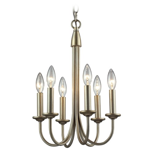 Elk Lighting Elk Lighting Chandette Aged Silver Mini-Chandelier 31803/6