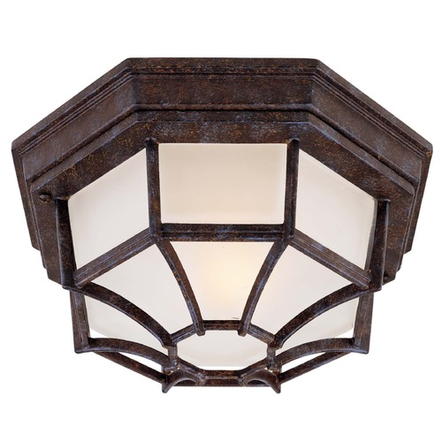 Savoy House Savoy House Rustic Bronze Close To Ceiling Light 5-2067-72