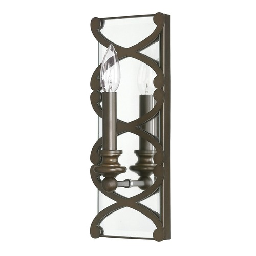 Capital Lighting Capital Lighting Alexander Burnished Bronze Sconce 8061BB