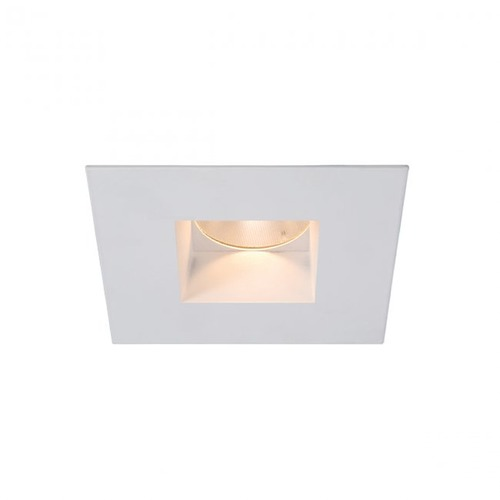 WAC Lighting WAC Lighting Square White 2-Inch LED Recessed Trim 3500K 880LM 45 Degree HR2LEDT709PF835WT