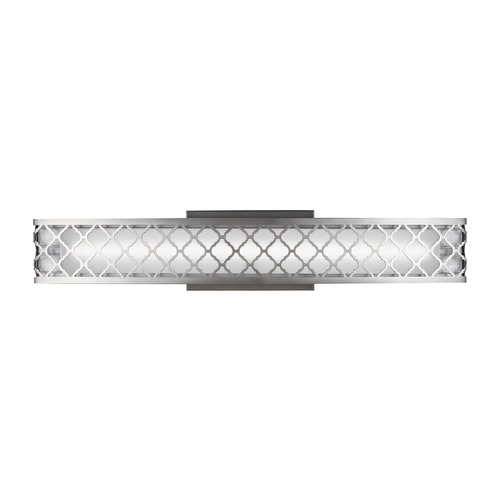 Feiss Lighting Feiss Lighting Amani Satin Nickel LED Bathroom Light WB1785SN-LED