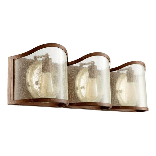Quorum Lighting Quorum Lighting Salento French Umber Bathroom Light 5106-3-94