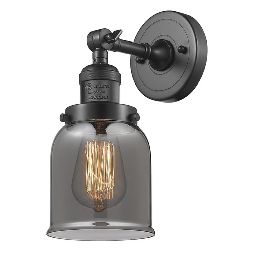 Innovations Lighting Innovations Lighting Small Bell Oil Rubbed Bronze Sconce 203-OB-G53