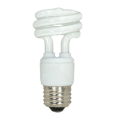 Satco Lighting 11-Watt Mini Compact Fluorescent Light Bulb S7216