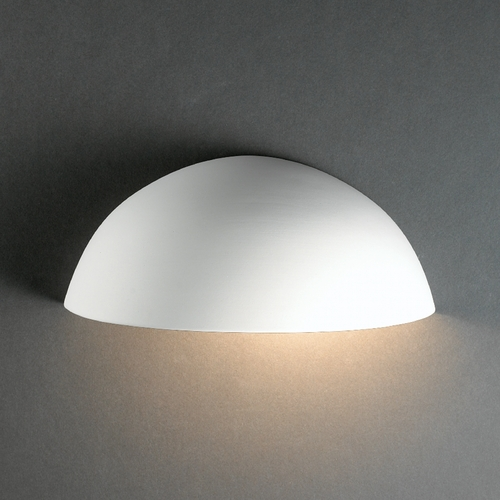 Justice Design Group Outdoor Wall Light in Bisque Finish CER-1300W-BIS