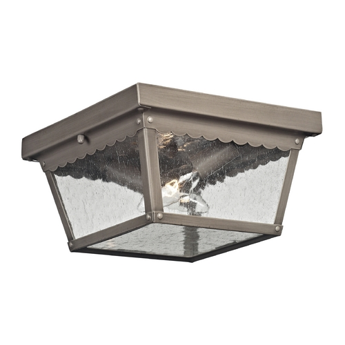 Cornerstone Lighting Cornerstone Lighting Springfield Antique Nickel Close To Ceiling Light 9002EF/80