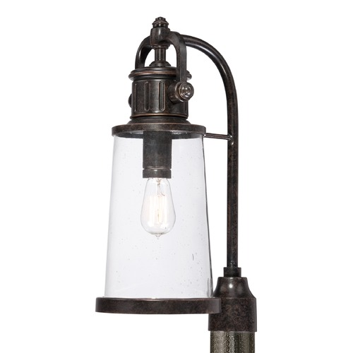 Quoizel Lighting Quoizel Steadman Imperial Bronze Post Light SDN9008IBFL